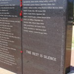 The Wall of Remembrance Completed