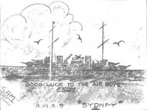 tn_10.41 Inverted Chalk art RAAF Geraldton Mess Hall