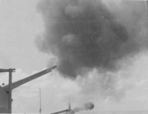 tn_'A' and 'B' turrets firing