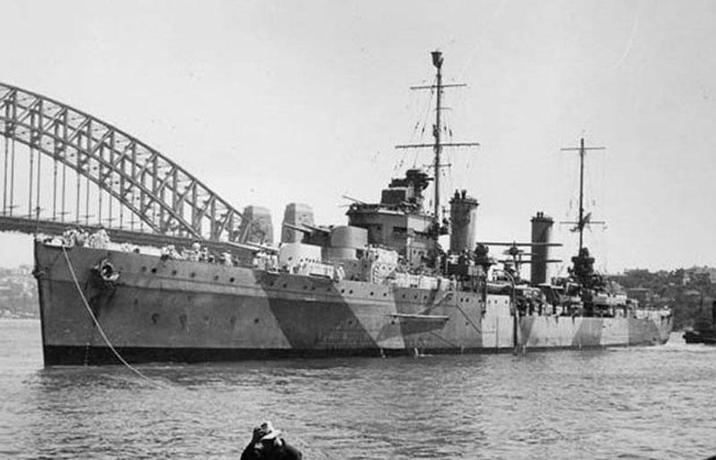 The HMAS Sydney II