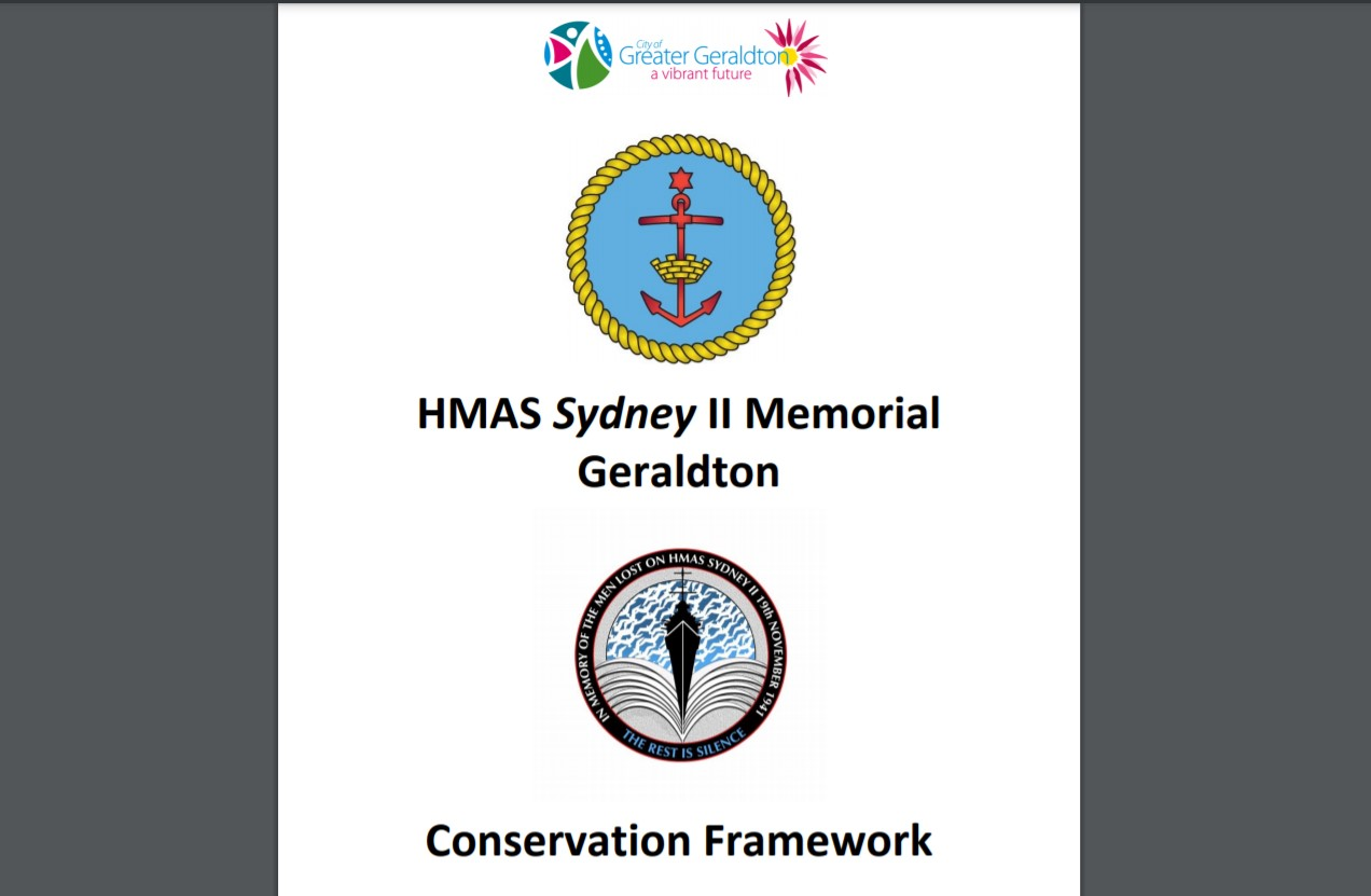 Conservation Framework HMAS Sydney Memorial