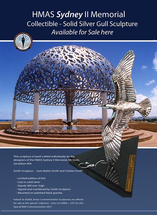 Hmas-Sydney-II-Memorial-Silver-Gull-Sculpture- Web Brochure