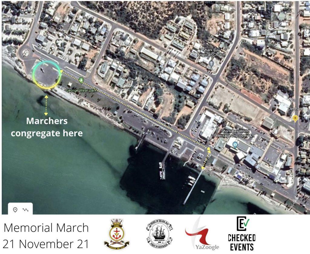 Marchers congregate here